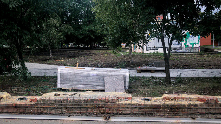 Сквер на Алом Поле, где вырубают деревья, за свой счет озеленит ландшафтная компания