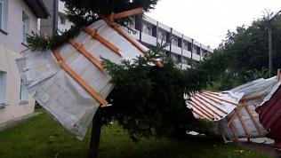 Смерч оставил южноуральцев без электричества
