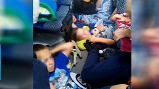 Дети из Саратовской области выехали домой