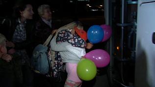 Дети, добиравшиеся неделю из Крыма, вернулись к родителям