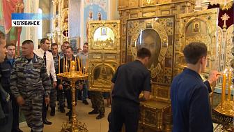 В Челябинск привезли главную армейскую икону