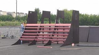 В Миассе начали устанавливать новый скейт-парк