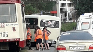 В Челябинске произошло очередное ДТП по вине водителя «маршрутки»