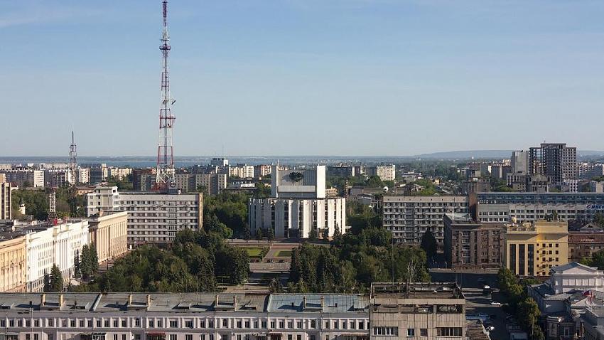 Уникальную подсветку телебашни с эффектом маяка сделали в Челябинске
