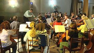 В Челябинске состоялась первая репетиция симфонического оркестра