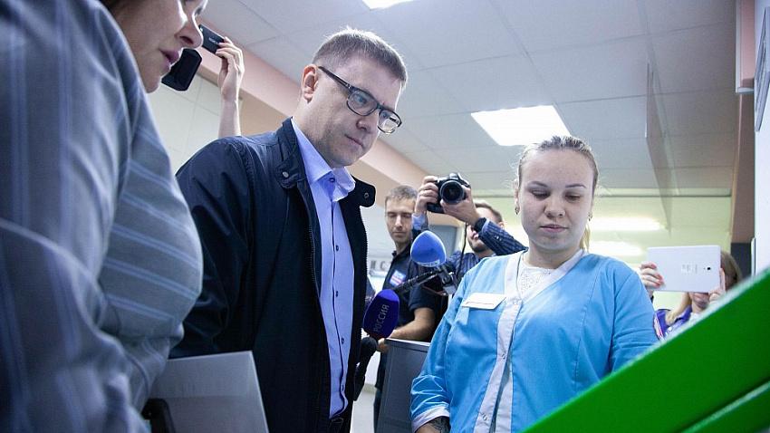 Медицина и дороги. Алексей Текслер обсудил с жителями Снежинска главные проблемы города