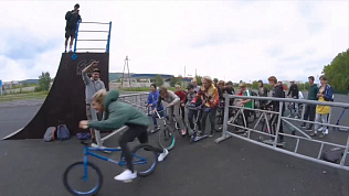 Один из лучших скейт-парков региона появился в Миассе