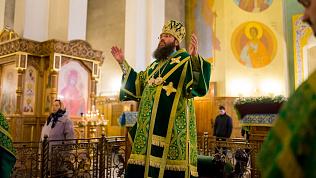 Сегодня прошло последнее служение главы магнитогорской епархии