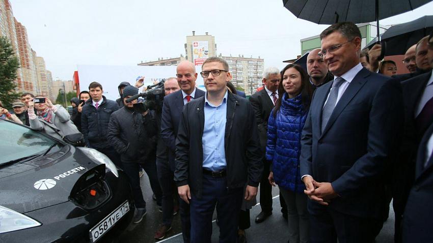 Идея открытия электрозаправок в Челябинске принадлежит Алексею Текслеру