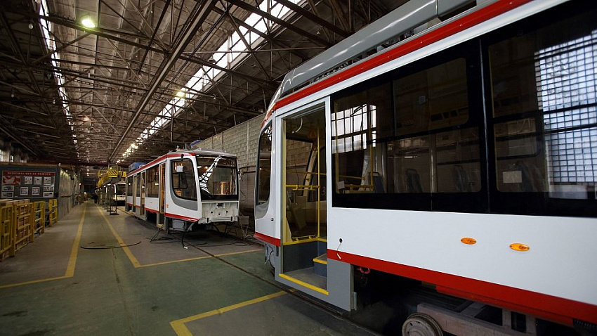 Экспериментальный трамвай готов к работе на линиях Челябинска