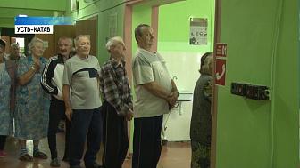 В больницах Усть-Катава проголосовали 35 человек