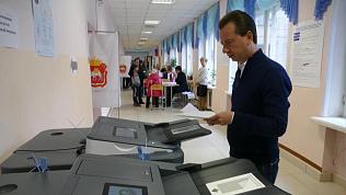 На выборах губернатора проголосовали депутаты гос думы