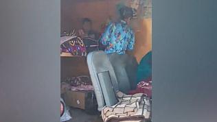 Полиция области задержала иностранцев на микроавтобусах