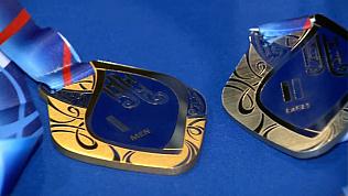 Медали для победителей гран-при по фигурному катанию