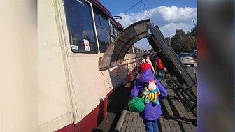 В Челябинске прошел град