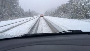 Челябинская область встречает первый снег