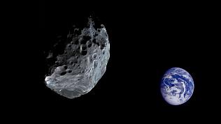 24 сентября к земле приблизится крупный астероид
