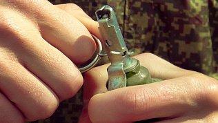Неизвестный с гранатой в руке напал на отделение Сбербанка