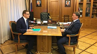 Алексей Текслер обсудил вопросы экологии с вице-премьером Алексеем Гордеевым