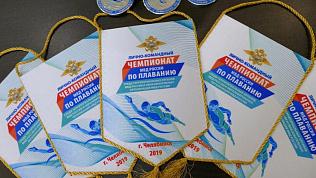 Кубки и медали к предстоящему чемпионату по плаванию среди полицейских уже готовы