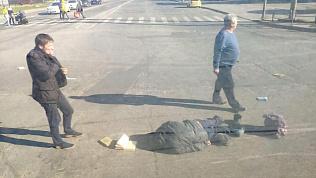 Несколько метров протащили по дороге мужчину в результате ДТП