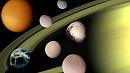 Челябинцы могут придумать названия для новых лун Сатурна