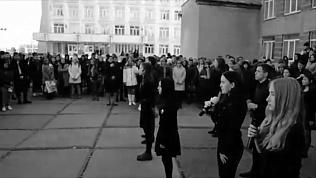 В память о погибших в Керченском политехническом колледже