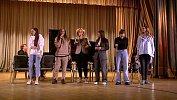 Женский хор Soprano исполнил песни перед студентами Челябинска