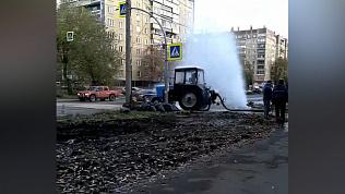 Коммунальный фонтан на улице 40 лет Победы