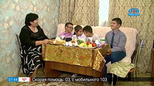 Бабушка и внуки