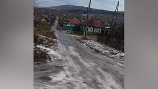 Миасс борется с ледяными дорогами