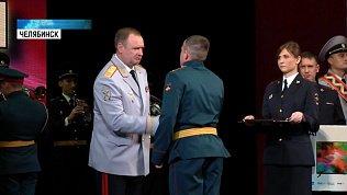 Челябинского танкиста наградили полицейские области