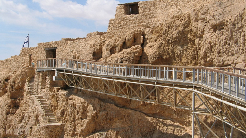 Крепость Масада: героизм, победивший время