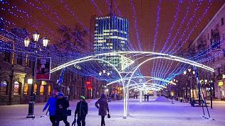 Как в Питере: в Челябинске готовят праздничную иллюминацию к Новому году