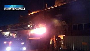 Загорелся компрессорный завод