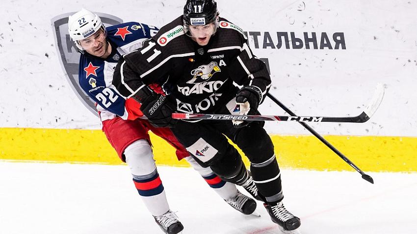 Челябинский «Трактор» не смог переиграть столичный ЦСКА