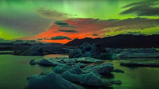 Челябинцы могут увидеть северное сияние в прямом эфире
