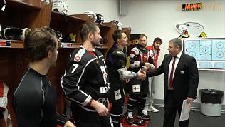 Хоккеисты «Трактора» одержали долгожданную победу