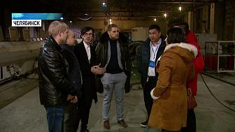 Зарубежные делегации посетили предприятия Челябинска