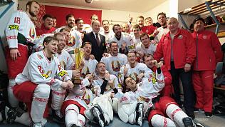 Защитник «Трактора» со сборной Беларуси выиграл Турнир шести наций