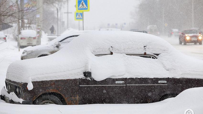 Металлургический район Челябинска на две недели засыпет снегом