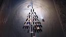 Челябинские водители готовят традиционную авто-елку к Новому году