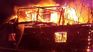 Хозяин заживо сгорел в доме Миасса