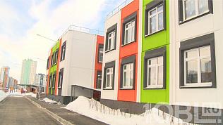 Первый утренник прошел в новом детском саду в Парковом