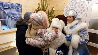 Дед Мороз ждет детей в гости!