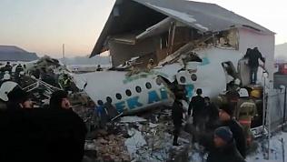 В Казахстане упал пассажирский лайнер