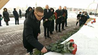 Алексей Текслер почтил память людей, погибших в Магнитогорске год назад