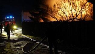В Нагайбакском районе погибли два человека в результате пожара