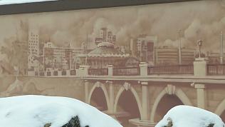 Новое красивое граффити появилось в Челябинске