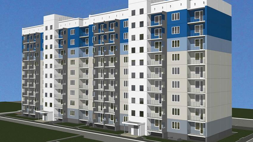 На месте снесенных бараков в Новосинеглазово построят девятиэтажку